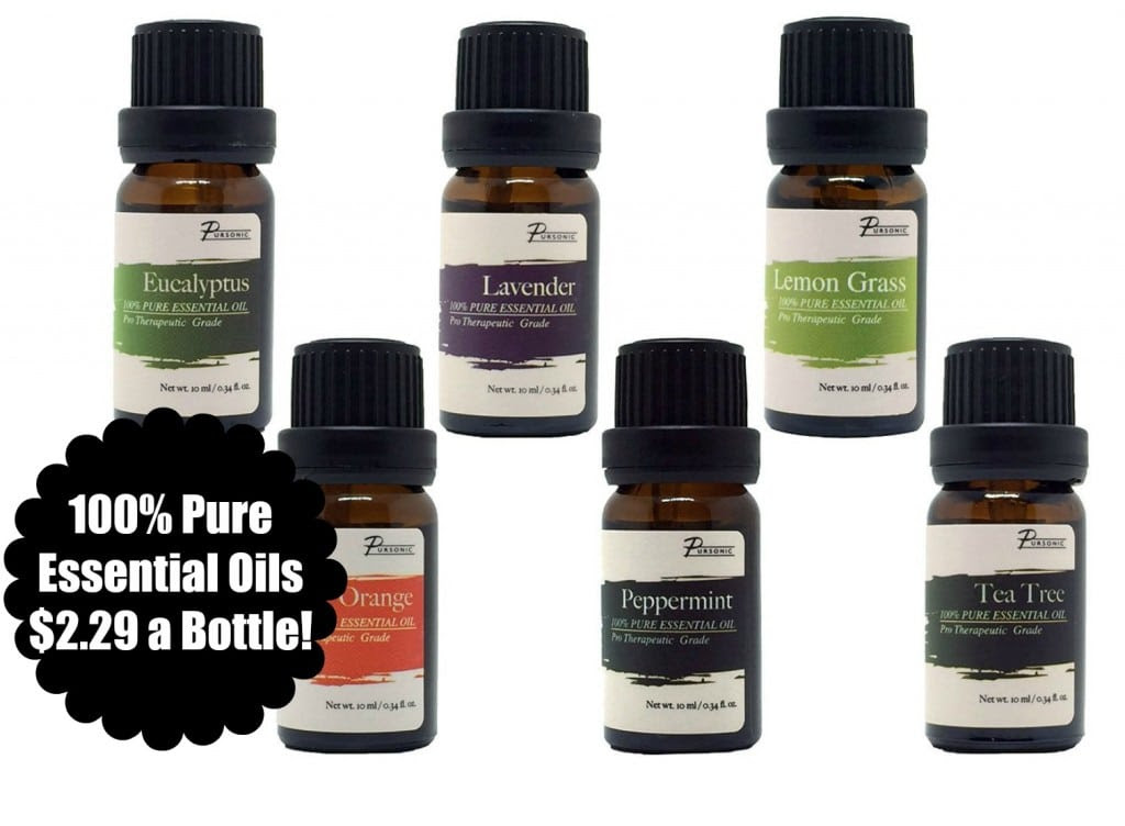 100% Pure Essential Oils $2.29...
