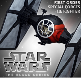 EPISODE VII BLACK SERIES DELUXE TIE FIGHTER