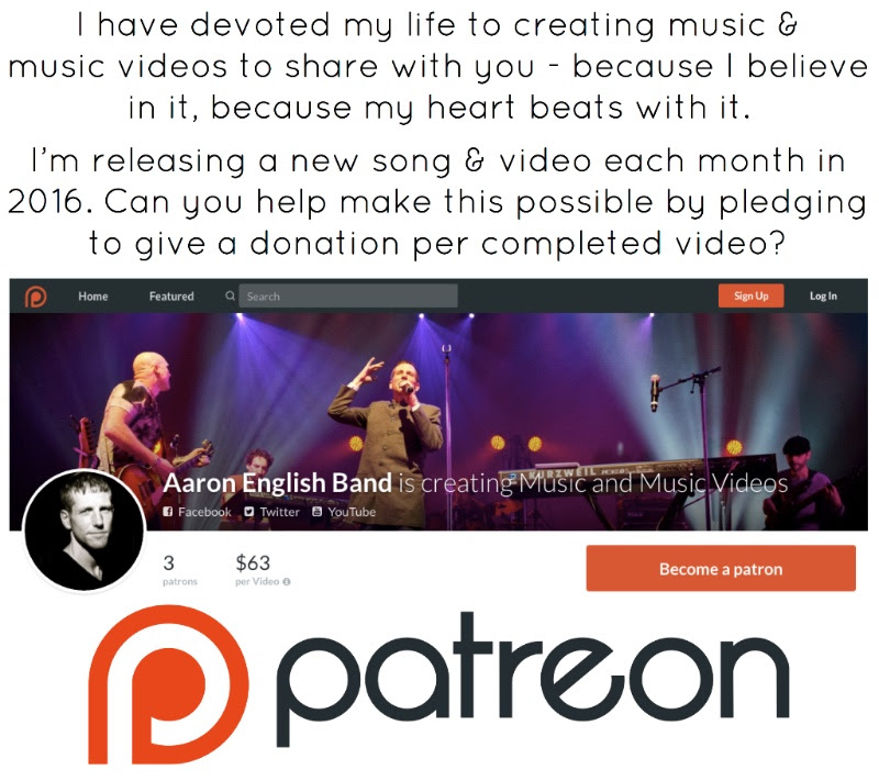 Your support makes the music possible!