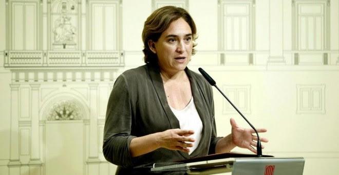 La alcaldesa de Barcelona, Ada Colau. EFE