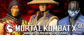 MORTAL KOMBAT X EXCLUSIVES