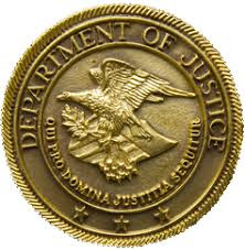 Image result for department of justice seal