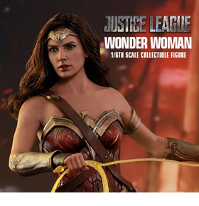 JUSTICE LEAGUE WONDER WOMAN 1/6TH SCALE FIGURE
