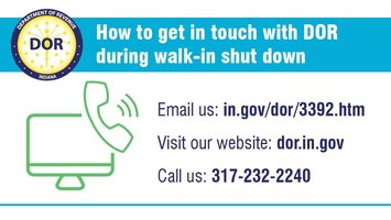 How to Contact Us During Walk-in Closure