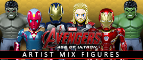 HOT TOYS AGE OF ULTRON ARTIST MIX COLLECTIBLE FIGURES