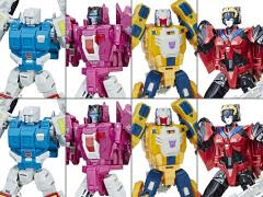 TITANS RETURN DELUXE FIGURES