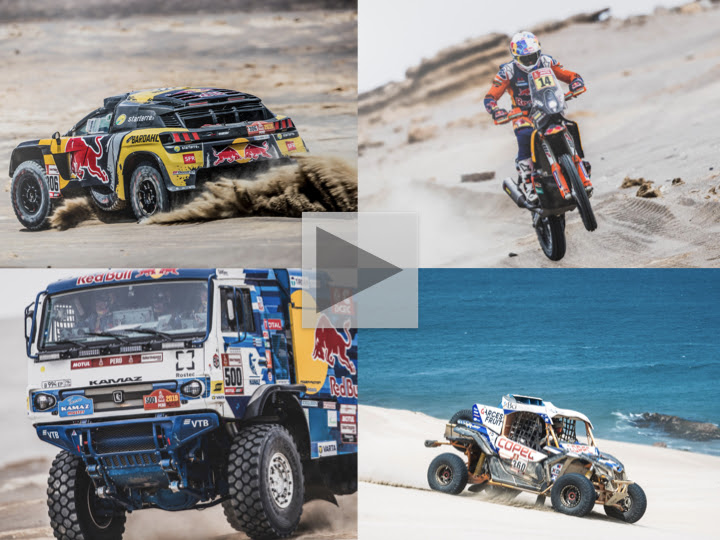Familiar faces rise up rankings as quality shows at 2019 Dakar Rally