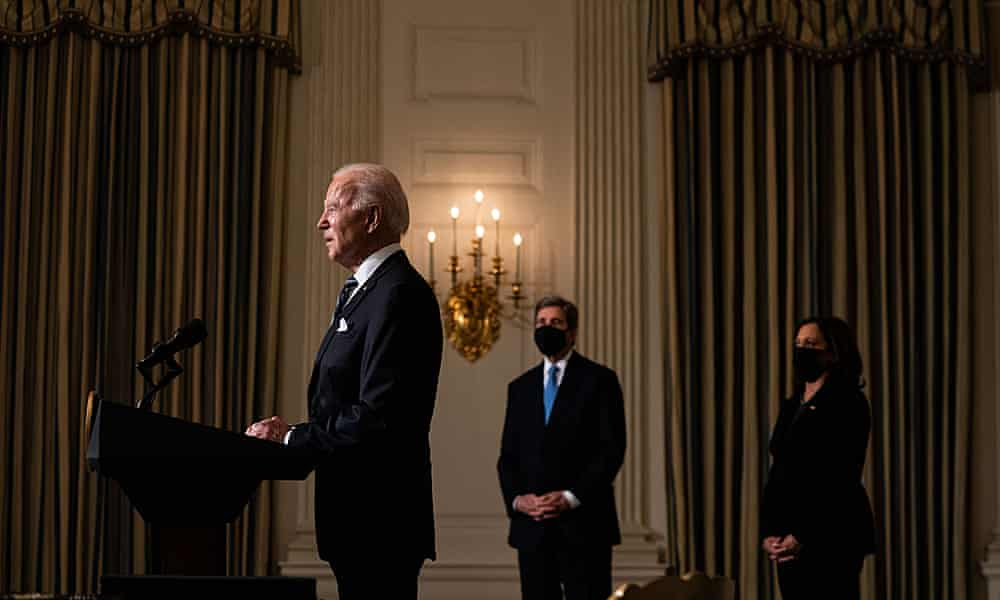 Dizzying pace of Biden's action sounds death knell for era of denialism
