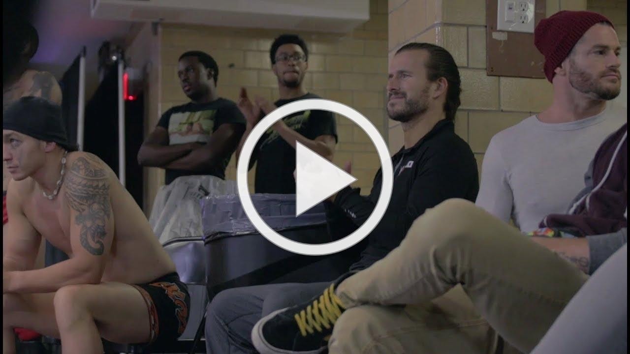 A Rare Look At The EVOLVE Seminar/Tryout feat. NXT Champion Adam Cole!