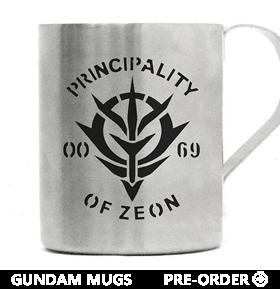 Gundam Mugs