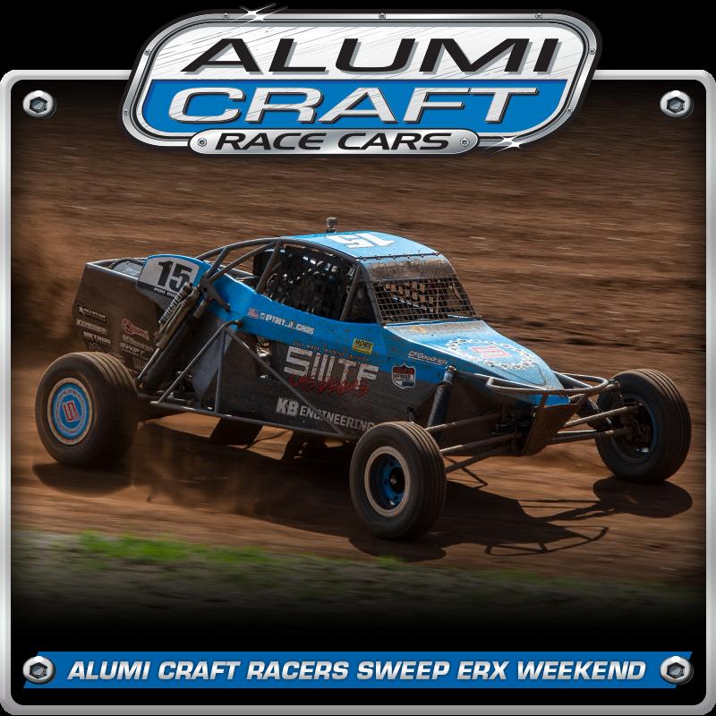 Alumi Craft Race Cars Sweep ERX Podiums with Trey Gibbs Winning Back-To-Back