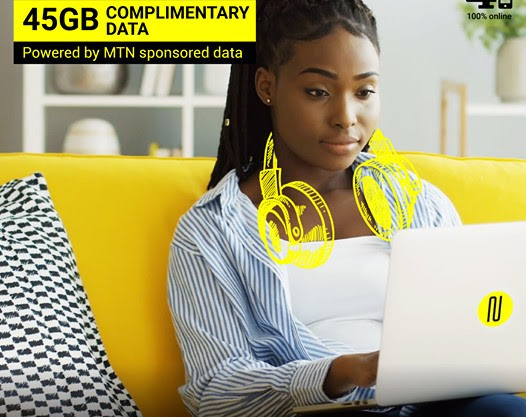 Get 45GB Monthly for 6 Months for FREE on MTN When you Register