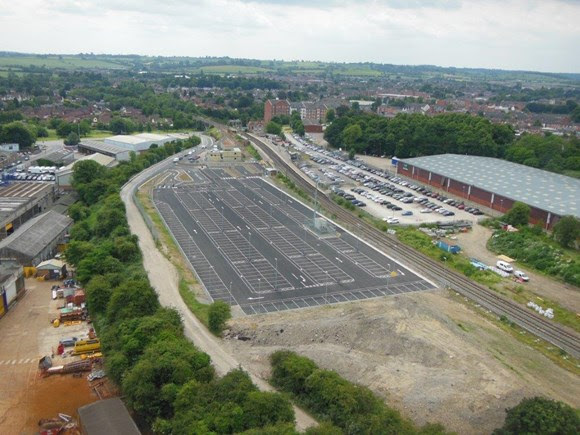 New car park opens for station users as £53million investment in railway in Market Harborough continues