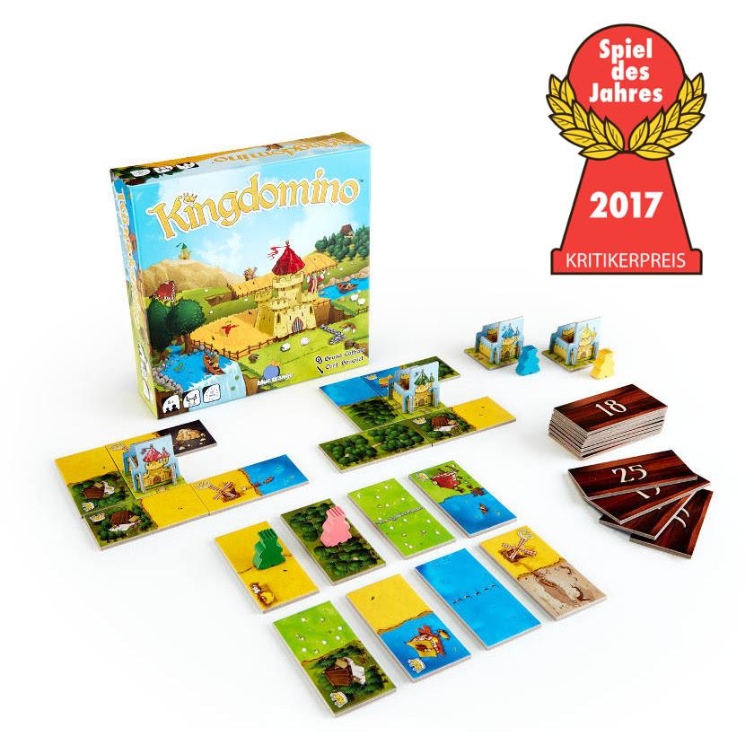 Imagen de Kingdomino ganador del Spiel des Jahres