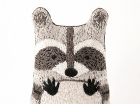 Raccoon - DIY Embroidery Kit