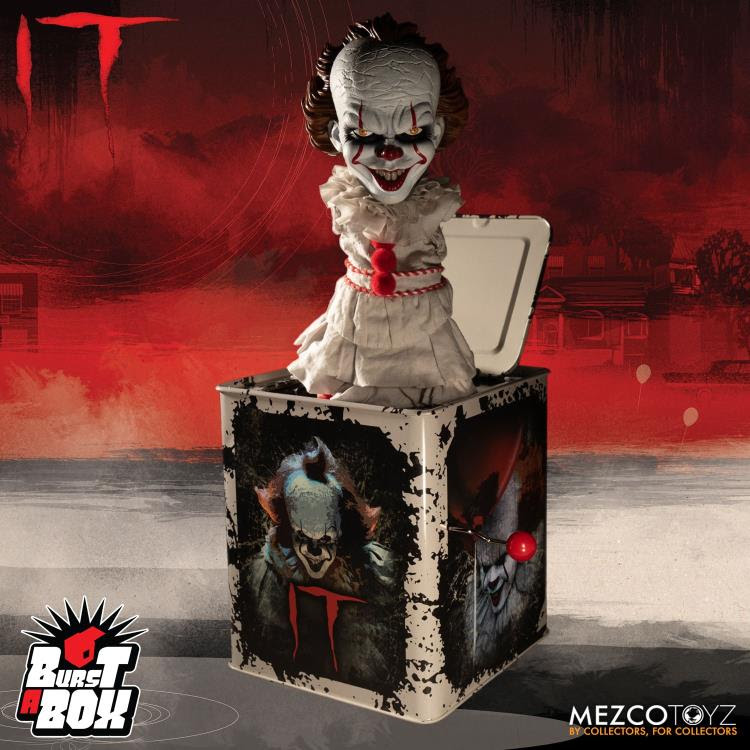 Image of It (2017) Burst-A-Box Pennywise
