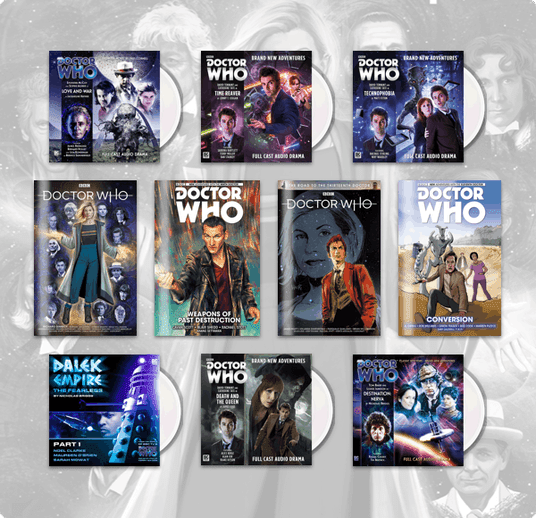 Humble Comics & Audiobook Bundle: Doctor Who