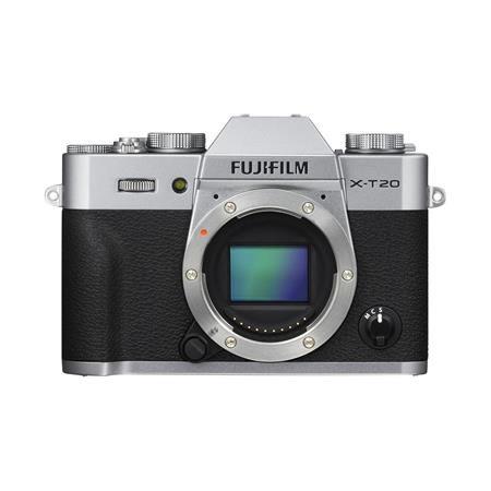X-T20 Mirrorless Digital Camera Body, Silver