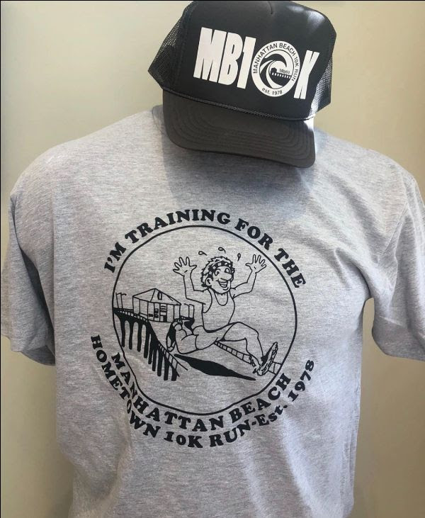 MB10k t-shirt and hat.