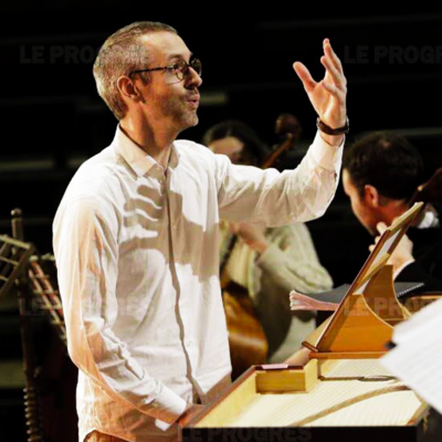 Sébastien Daucé (Photo courtesy of Ensemble Correspondance)