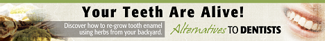Your teeth Are Alive! Banner Ad