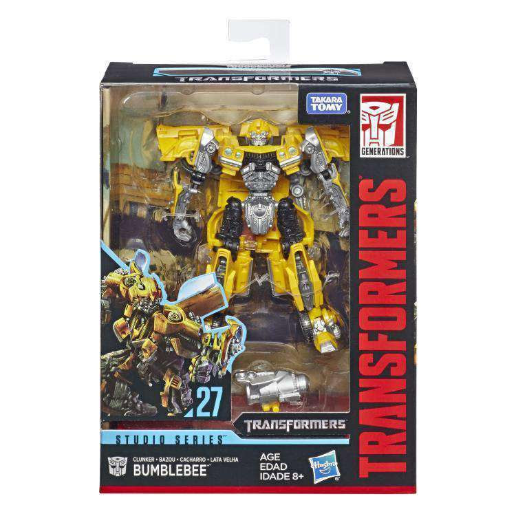 Image of Transformers Studio Series Premier Deluxe Wave 5 - Clunker Bumblebee - JANUARY 2019