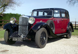 1934 Sunbeam 25hp Saloon