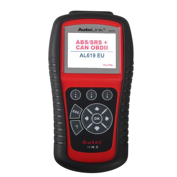 [Free Shipping] Autel AutoLink AL619EU ABS/SRS OBDII CAN Diagnostic Tool (Support Citroen/Peugeot) Ship From UK Warehouse