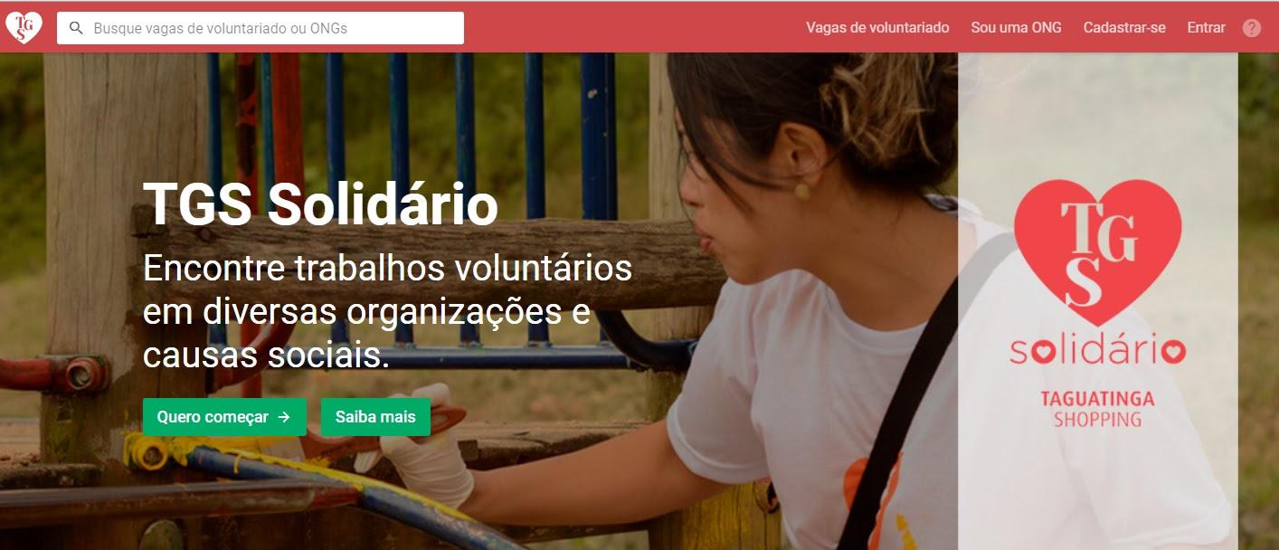 Taguatinga Shopping amplia rede de voluntariado com matchs de solidariedade