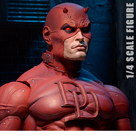 Marvel Daredevil (Classic) 1/4 Scale Figure