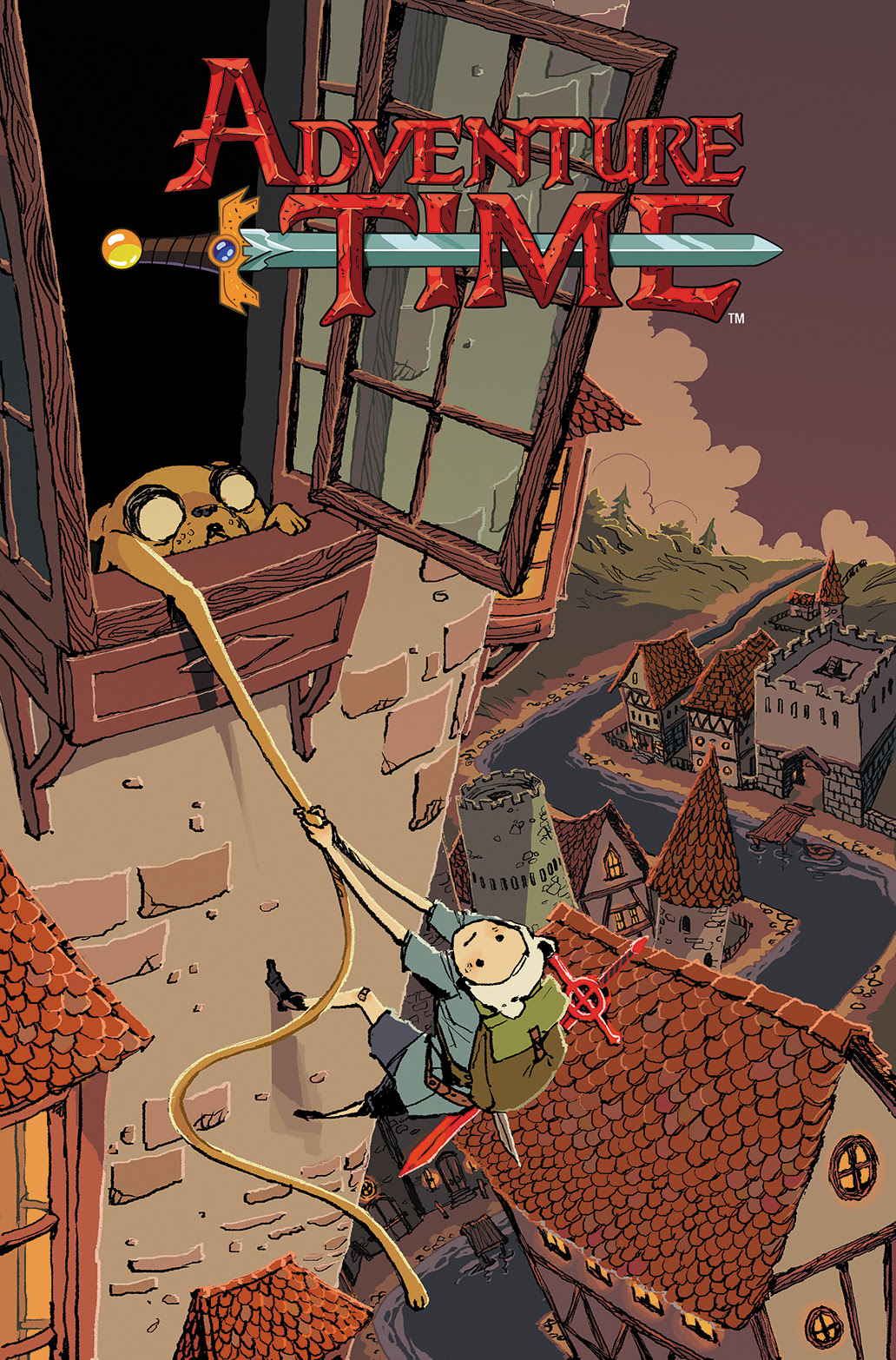 ADVENTURE TIME #28 Cover B by Kyla Vanderklugt