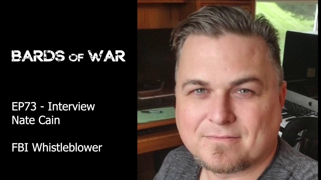 Bards of War with Nate Cain, FBI Whistleblower 9okz53OSsx