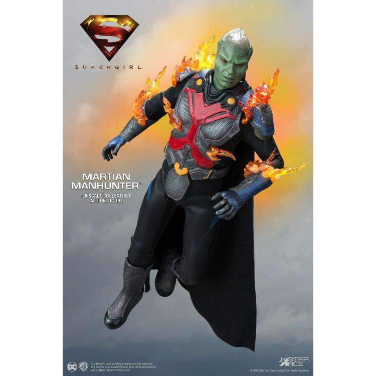 Image of Supergirl (TV Series) Real Master Series Martian Manhunter (Deluxe) 1/8 Scale Figure - JULY 2019