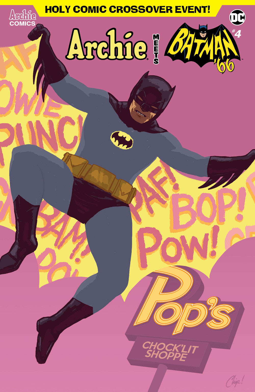 Archie Meets Batman '66 #4: CVR F Zdarsky
