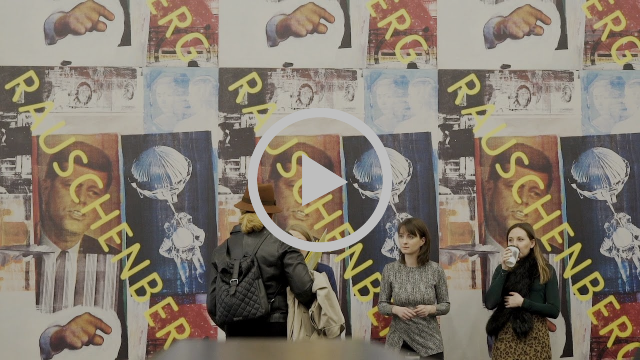 Robert Rauschenberg retrospectiva na Tate Modern