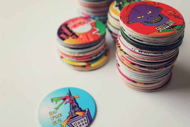 toys from the 90s - pogs