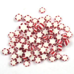 Peppermint Millefiori - 90 COE - 13101