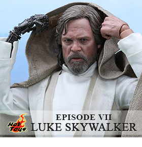 STAR WARS EPISODE VII MOVIE MASTERPIECE LUKE SKYWALKER
