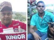 Un grupo armado asesinó el jueves a dos jóvenes campesinos en una comunidad rural del norte de Colombia.