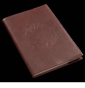 The Lord of the Rings Middle-Earth Leather Journal