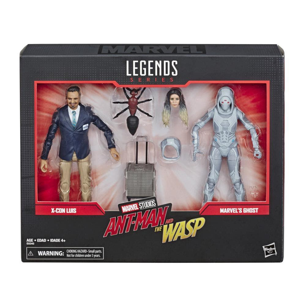Image of Marvel Legends 80th Anniversary Ghost and Luis 6-Inch Action Figures