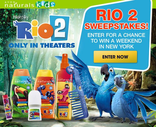 Rio 2 Sweepstakes