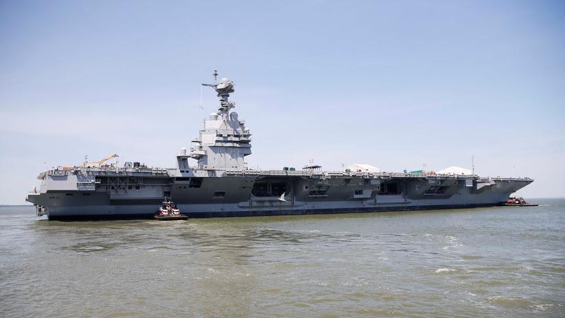El portaviones estadounidense Ford no levanta cabeza: sus aviones se la juegan al despegar y aterrizar