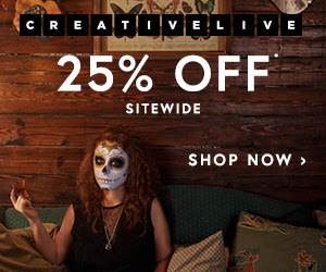 Creative Live - 25% Off Sitewide !
