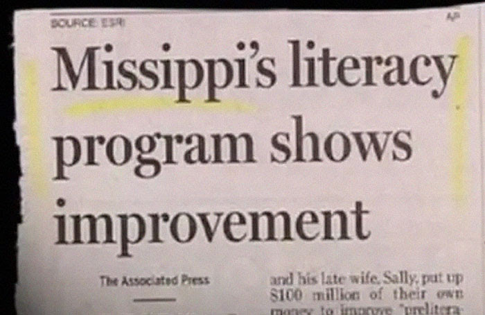 picture of news clipping