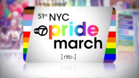 WABC 4 New Comp 51st NYC  PRIDE MARCH