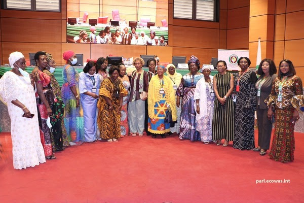 Group photo of Members of ECOFEPA with the Vice President of Liberia H.E., Jewel Taylor.