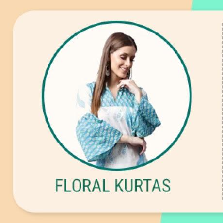 Floral Kurtas