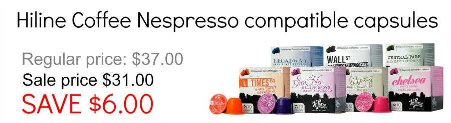 Hiline Nespresso Compatible capsules variety pack