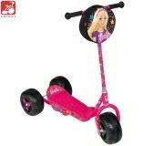 Patinete Bandeirante Barbie 2031 - Rosa/Preto